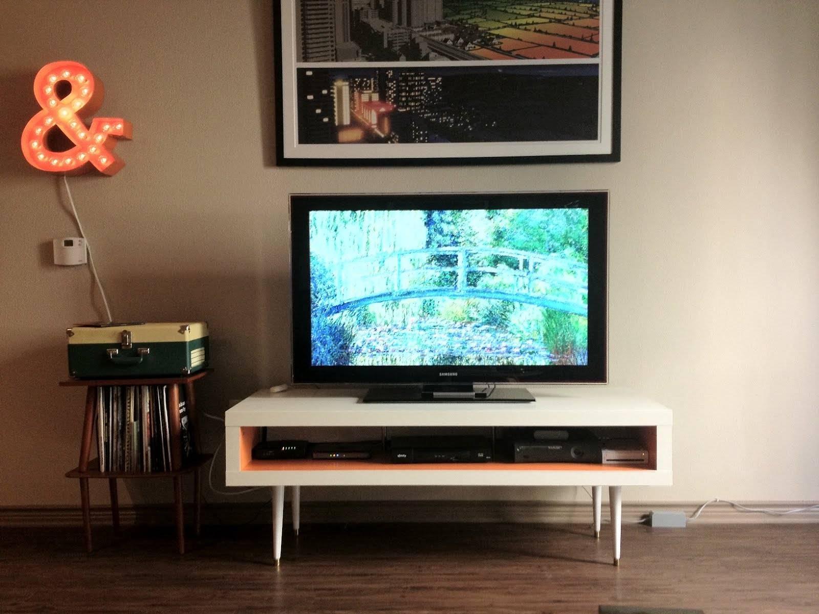 Mid-Century Lack Tv Hack - Ikea Hackers - Ikea Hackers in Orange Tv Stands (Image 7 of 15)