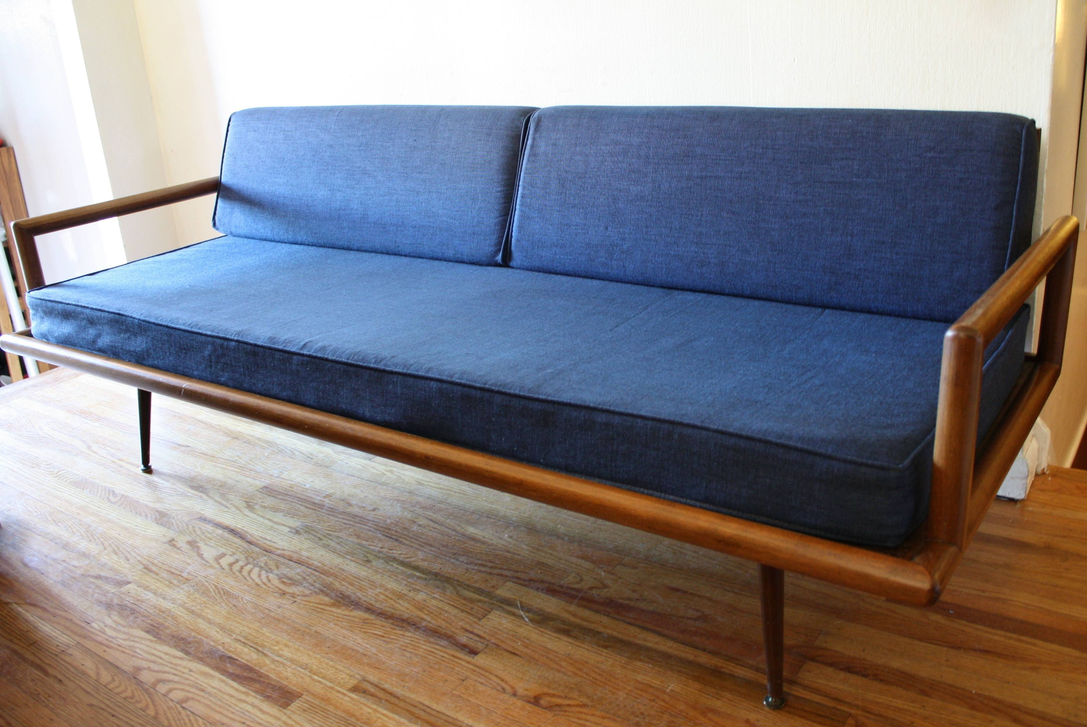 Mid Century Modern Sofa Couch | Picked Vintage intended for Danish Modern Sofas (Image 9 of 15)