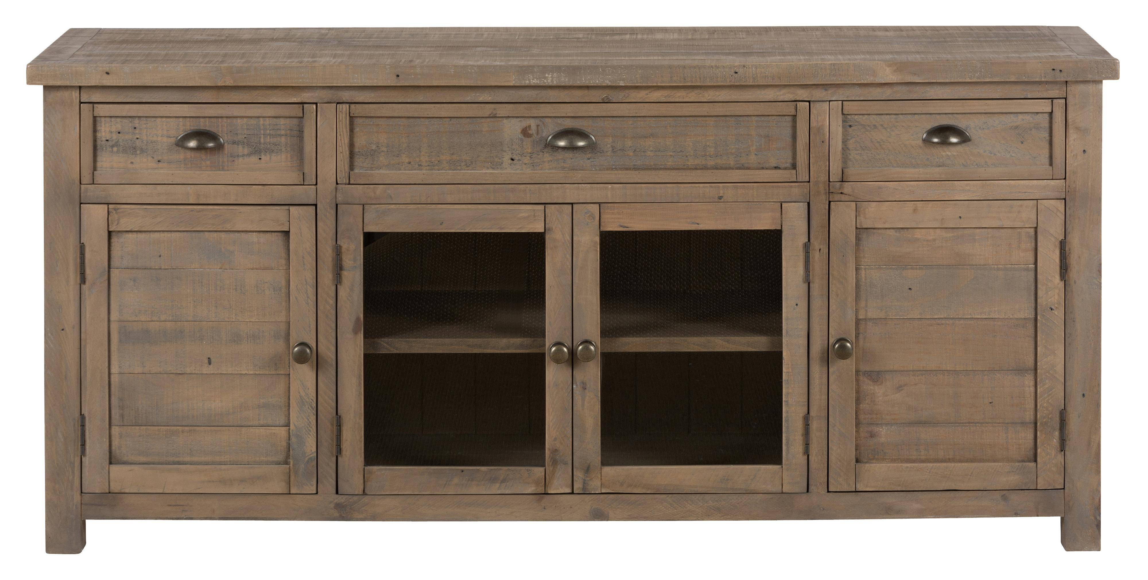 """Mill Creek - Reclaimed Wood 70"""" Tv Stand - 942-70 Home regarding Recycled Wood Tv Stands (Image 4 of 15)"""