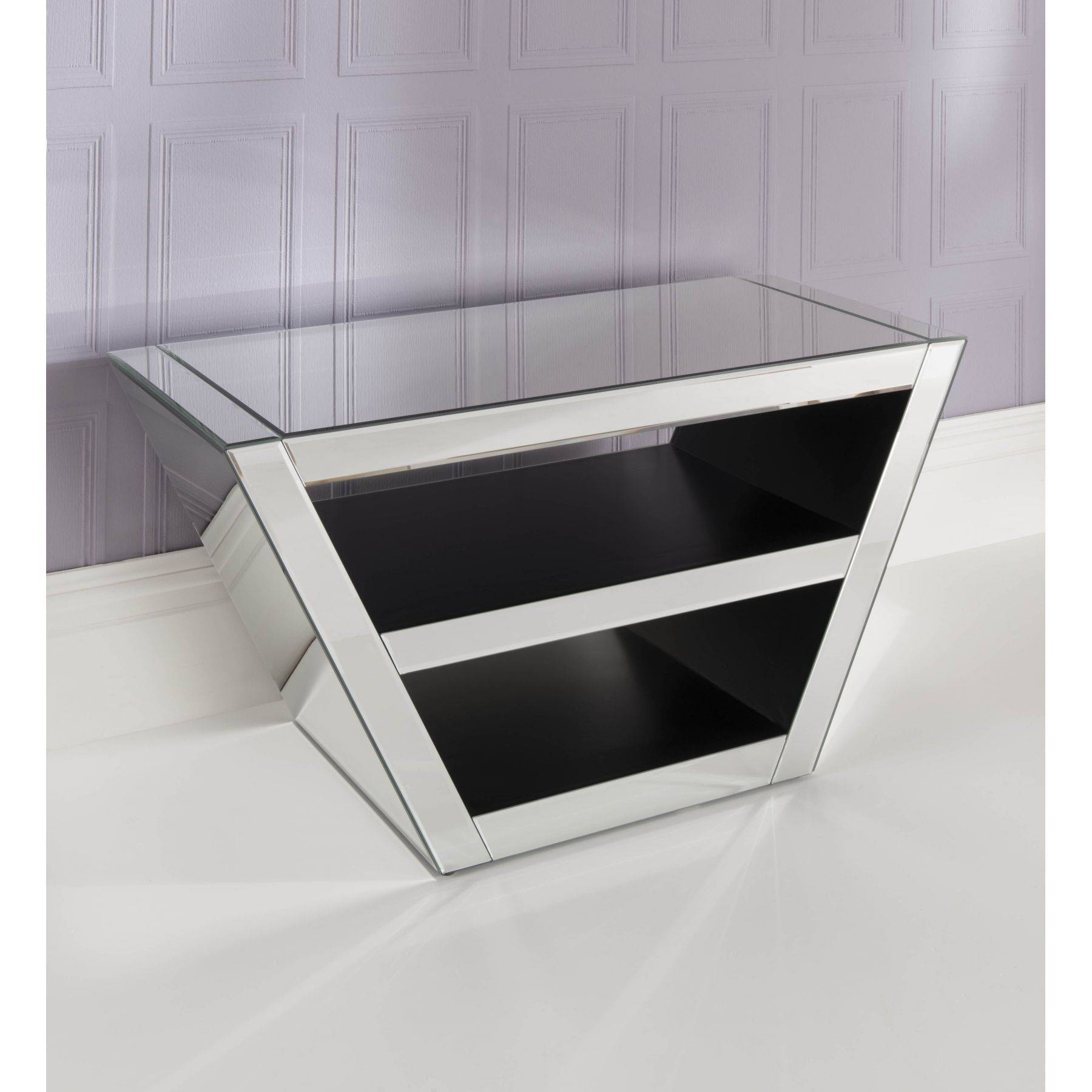 Mirrored Tv Cabinet | Venetian Glass Tv Stand | Homesdirect365 For Tv Cabinets (View 10 of 15)