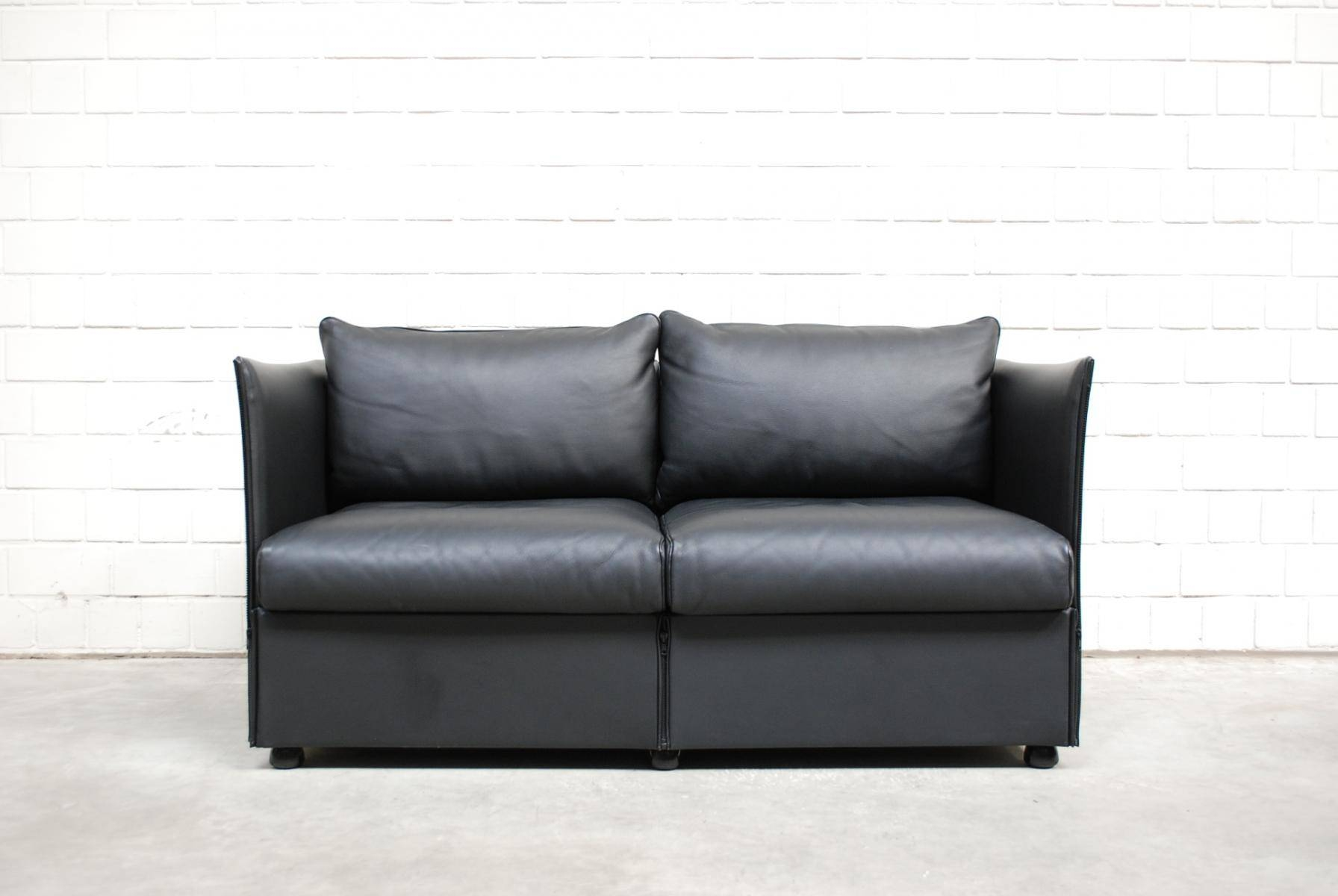 Model Landeau Leather Sofamario Bellini For Cassina, 1976 For throughout Bellini Couches (Image 8 of 15)