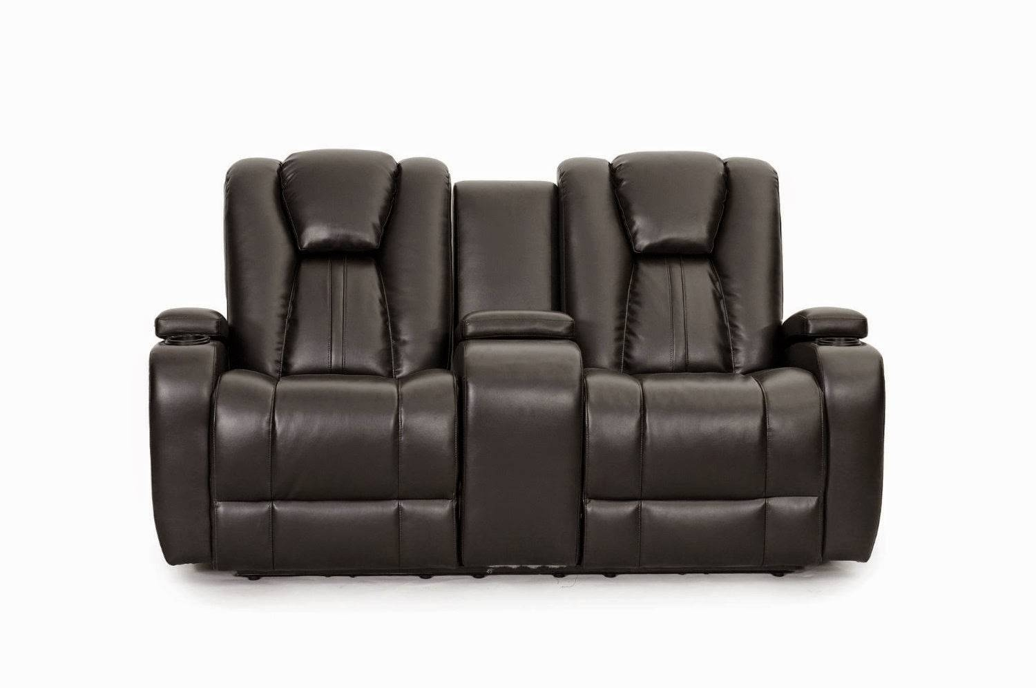 Modern Cheap Reclining Sofa Reviews: Reclining Sofa With Center With Sofas With Console (View 11 of 15)