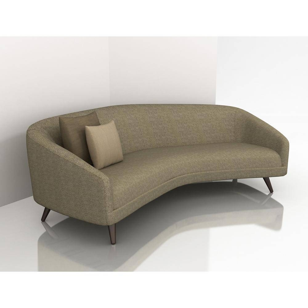 Modern Curved Sectional Sofas – Video And Photos | Madlonsbigbear With Small Modern Sofas (View 6 of 15)