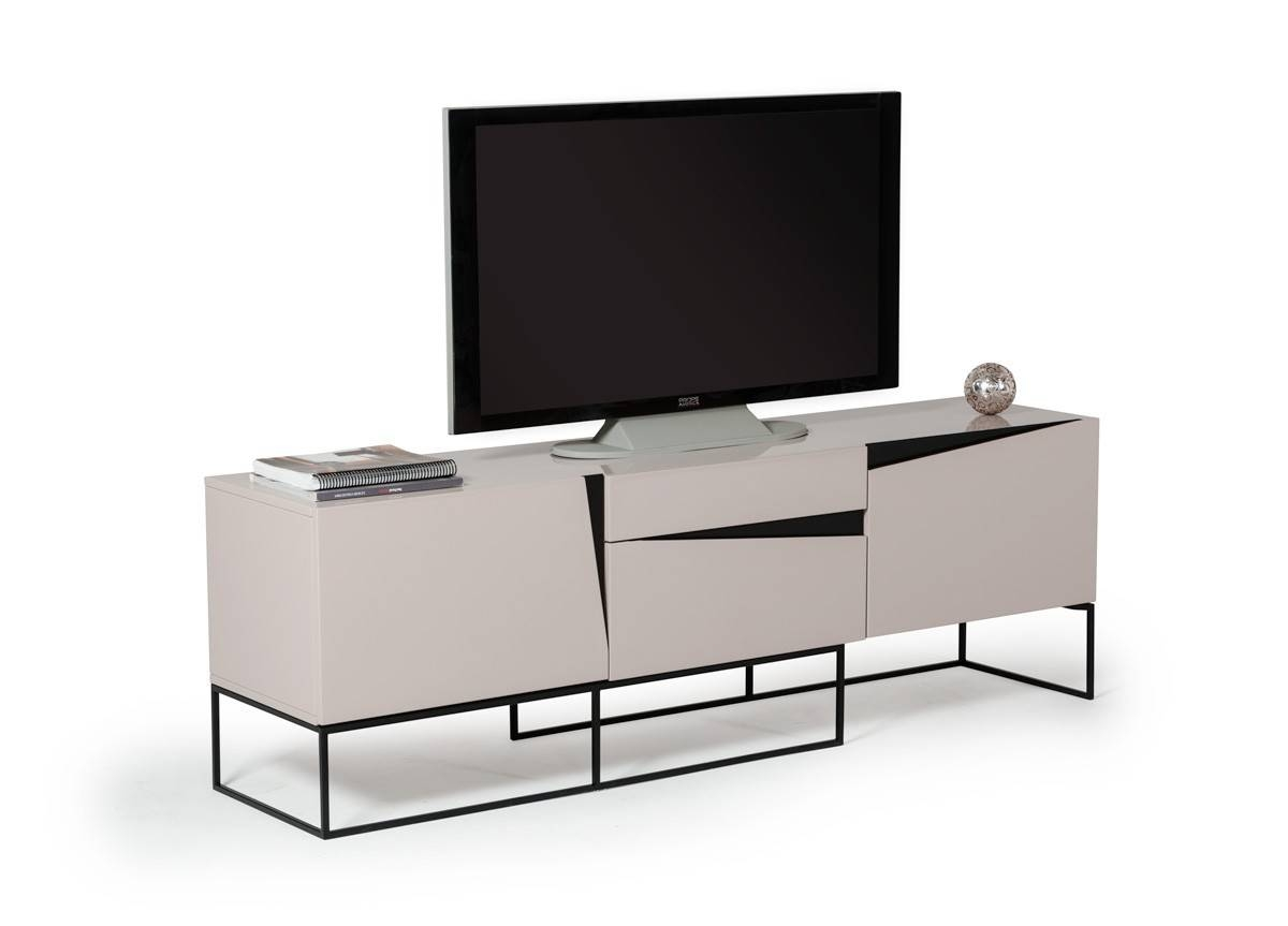 Modern Entertainment Centers – Durable Tv Stands And Tv Consoles With Modern Low Profile Tv Stands (View 11 of 15)
