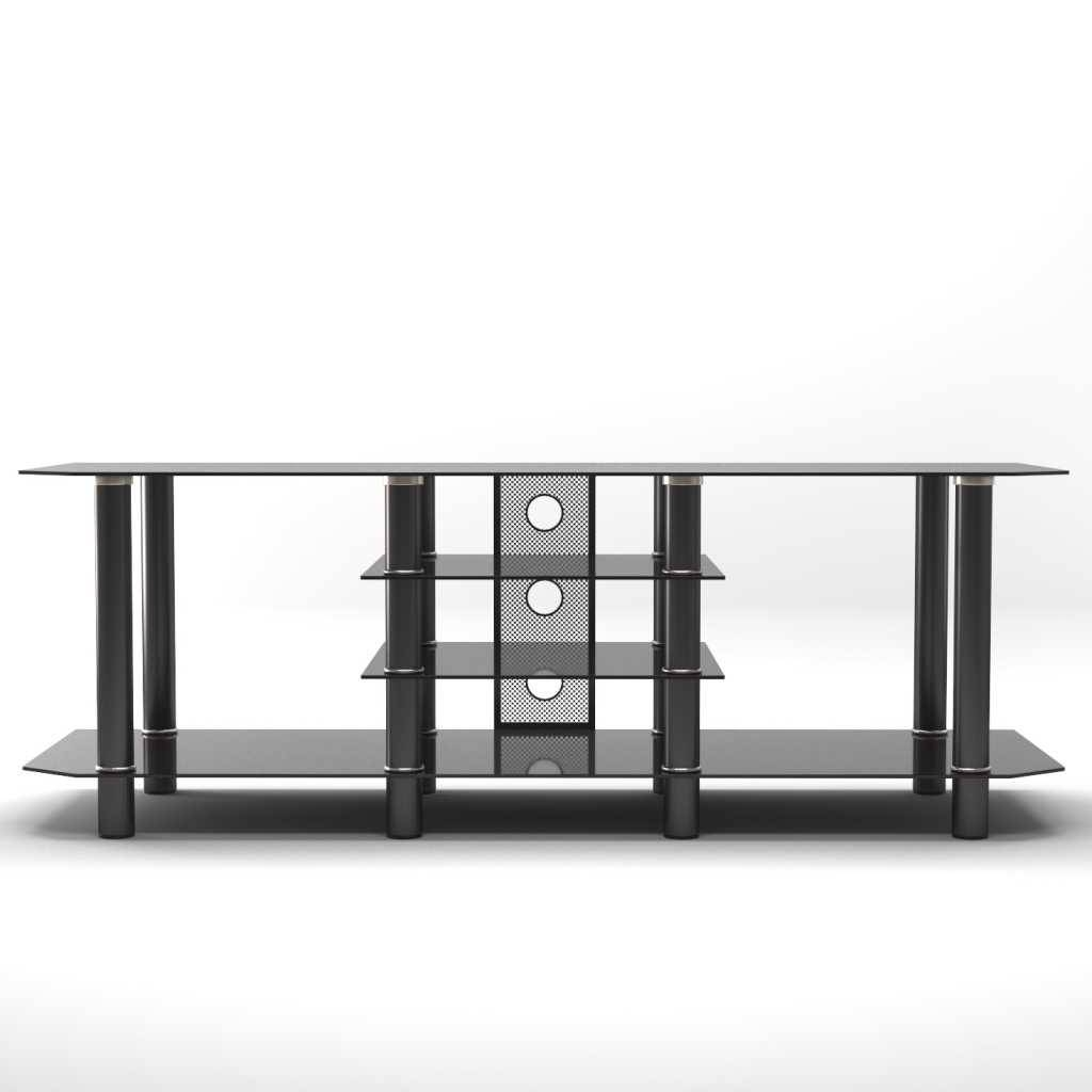Modern Glass Tv Stand - Peugen intended for Modern Glass Tv Stands (Image 8 of 15)
