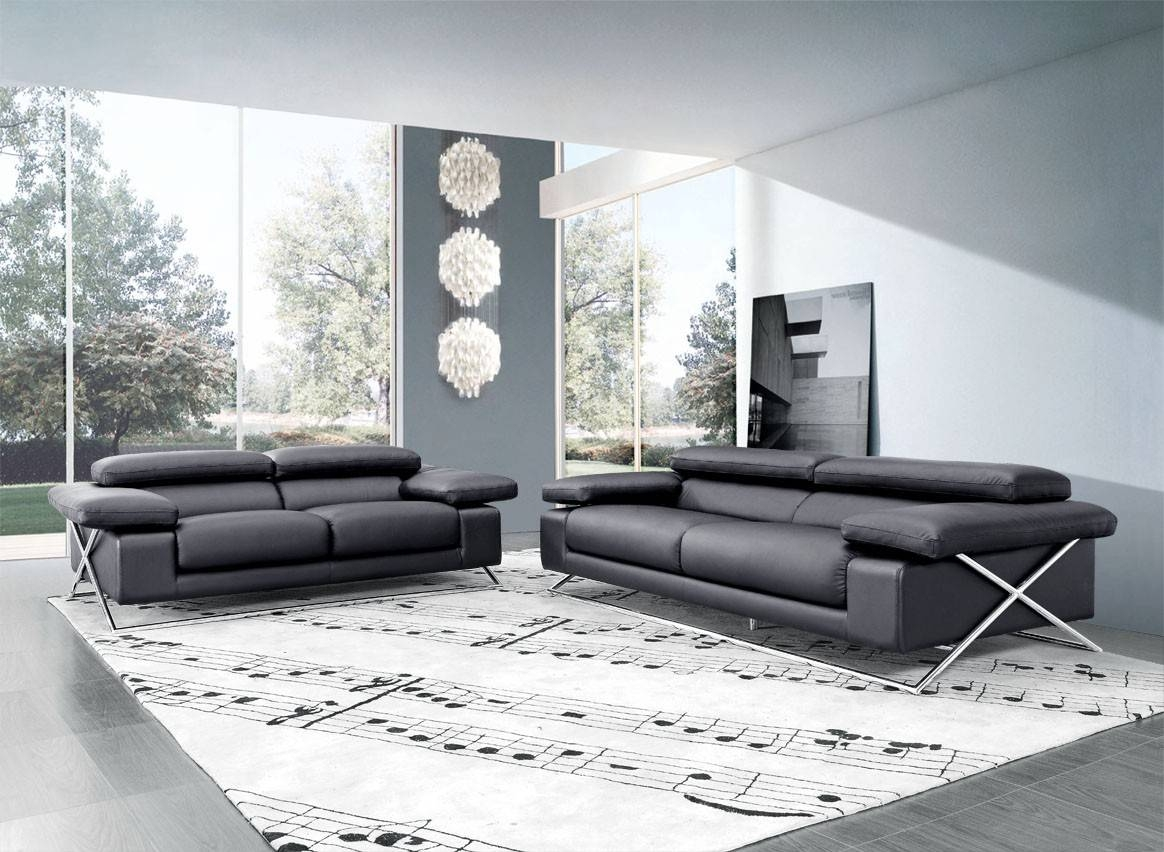 Modern Italian Leather Sofa Set pertaining to Italian Leather Sofas (Image 8 of 15)