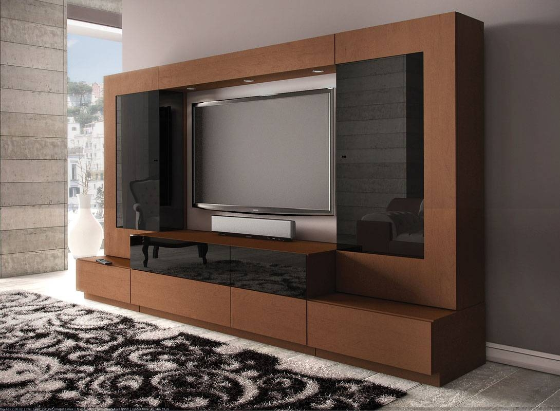Modern Lcd Tv Cabinet Designs | Memsaheb inside Modern Lcd Tv Cases (Image 13 of 15)