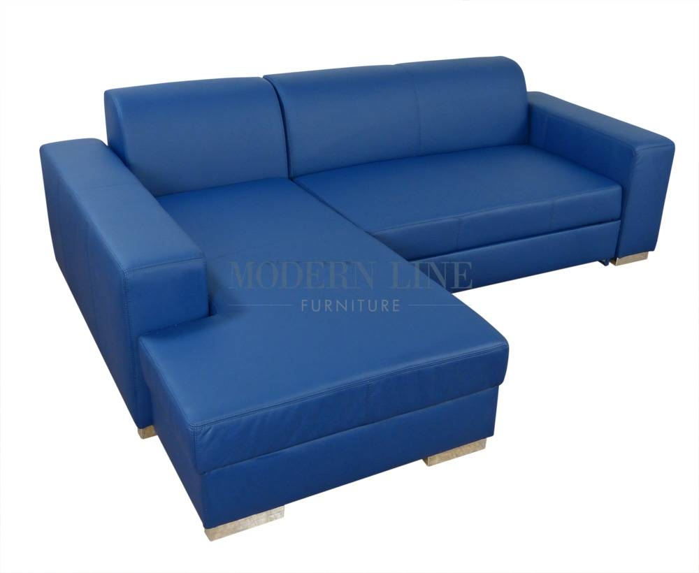 Modern Line Furniture - Commercial Furniture - Custom Made with regard to Blue Leather Sectional Sofas (Image 10 of 15)