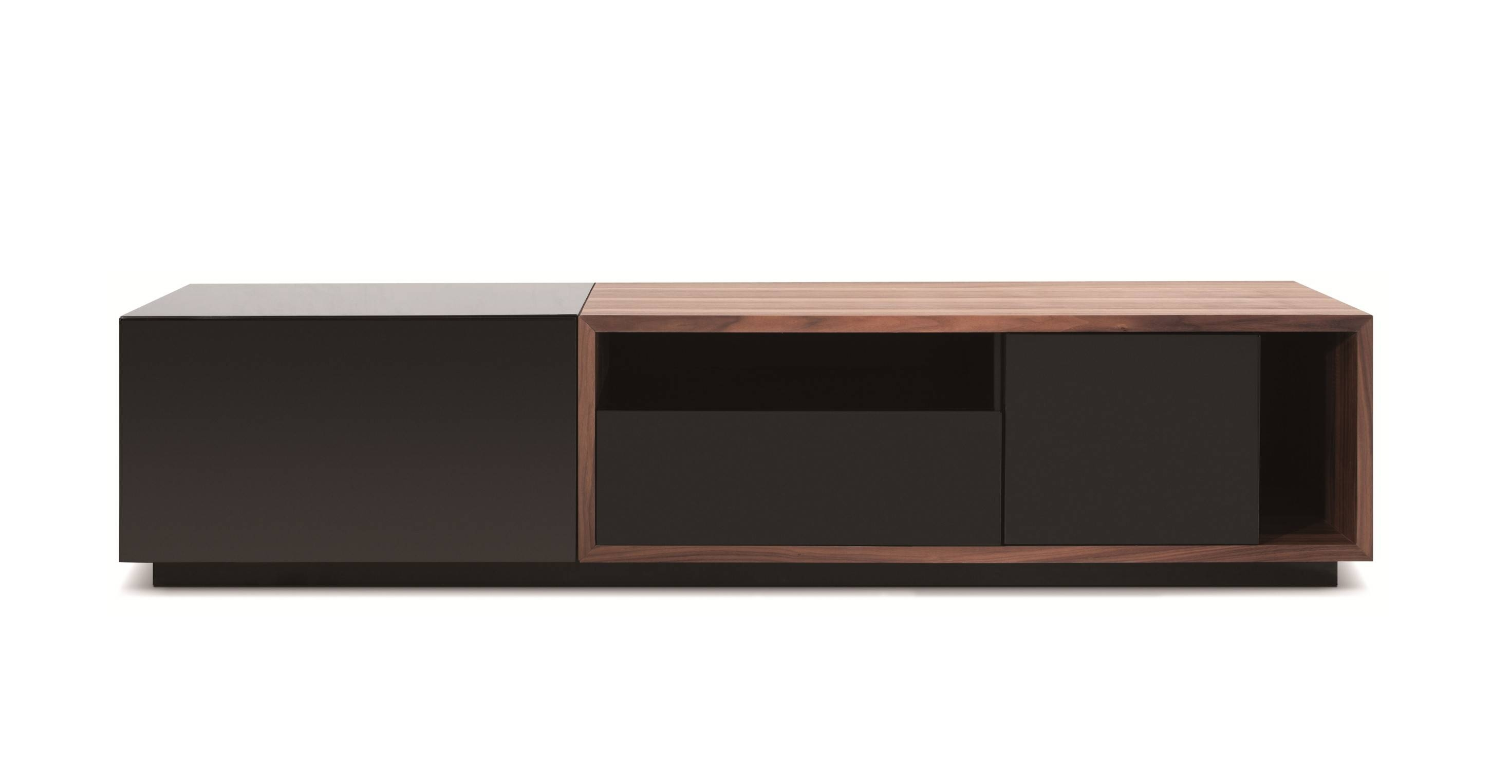Modern Simple Short Wooden Tv Stand With Glass Doors Of Nice Short intended for Modern Wooden Tv Stands (Image 5 of 15)