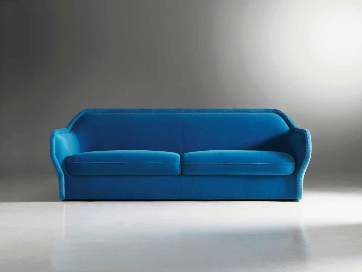 Modern Sofa Couch With Badrot Simple Blue Sofa With Two Seating throughout Blue Sofas (Image 11 of 15)
