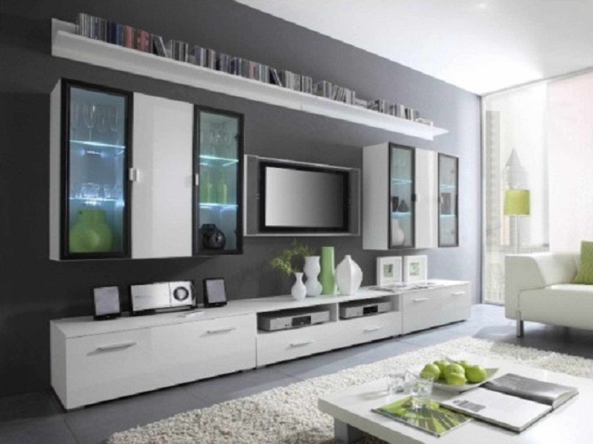 Modern Television Wall Cabinet Designterrific Tv Unit Trends with regard to On The Wall Tv Units (Image 8 of 15)
