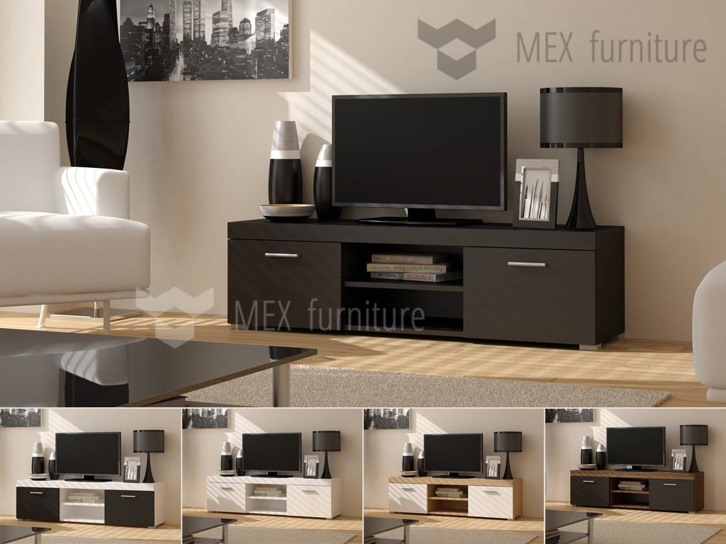 Modern Tv Cabinet [006] – Mex Furniture With Regard To Modern Tv Cabinets (View 8 of 15)