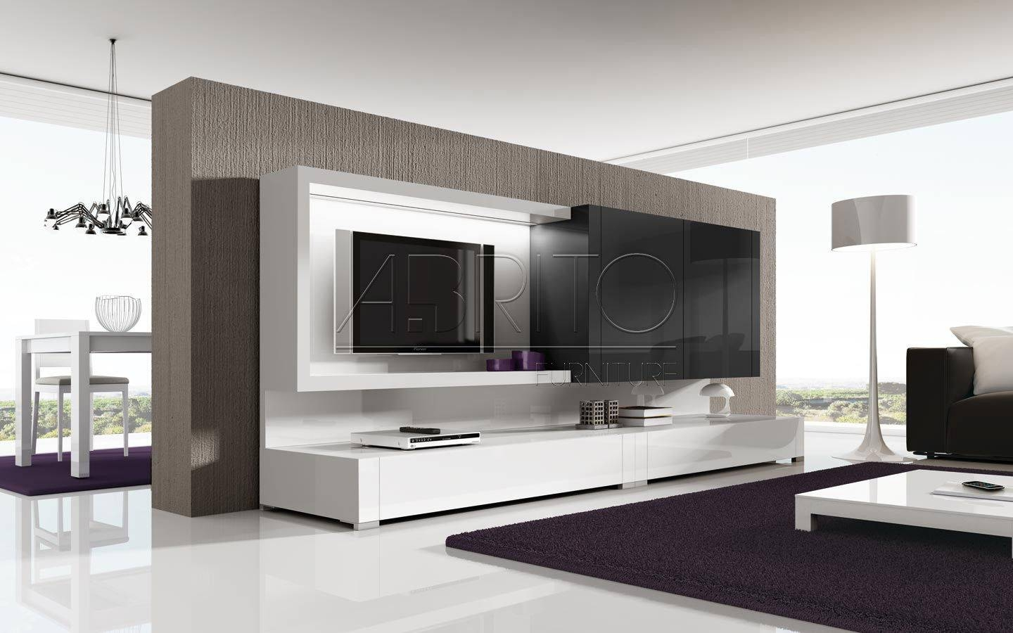 Modern Tv Wall Units With Inspiration Ideas Home Design | Mariapngt Inside Contemporary Tv Wall Units (View 12 of 15)