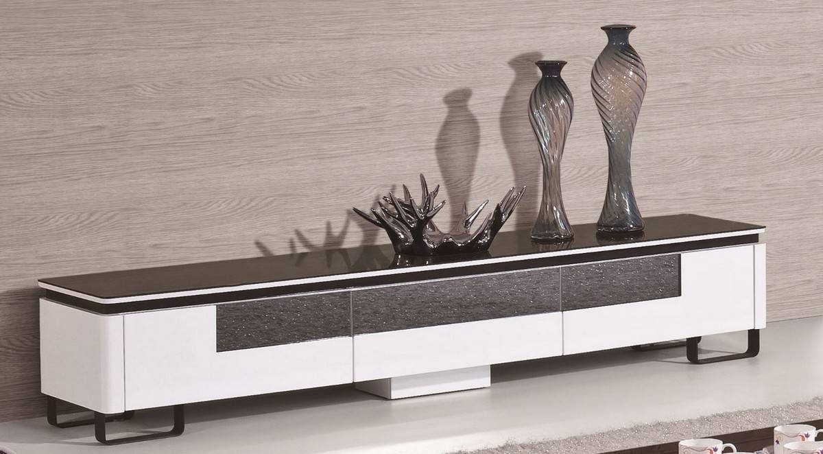 Modrest 2012 Modern White Tv Stand with Contemporary White Tv Stands (Image 10 of 15)