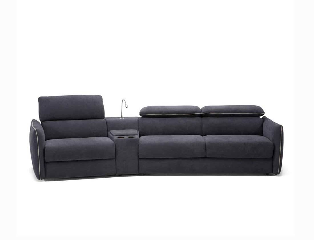 Modular Leather Sleeper Sofanatuzzi B995 | Natuzzi Sofabeds within Natuzzi Sleeper Sofas (Image 7 of 15)