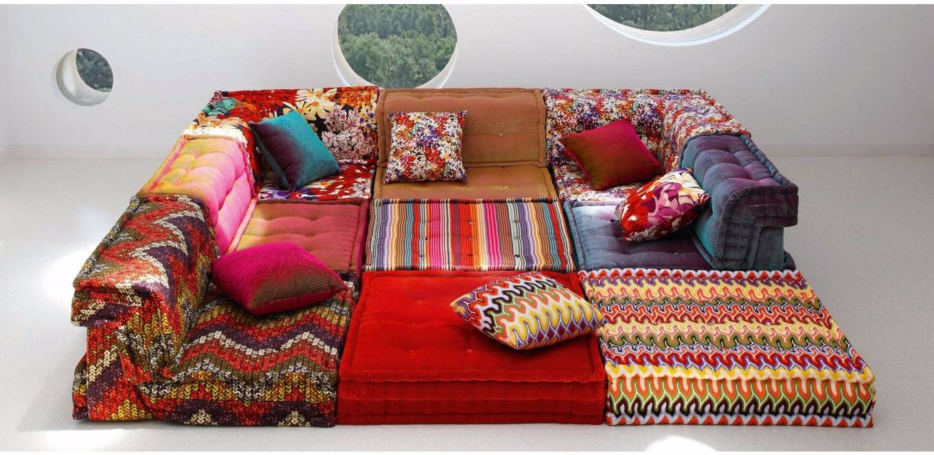 Modular Sofa / Contemporary / Fabric / 7-Seater And Up - Mah Jong with regard to Roche Bobois Mah Jong Sofas (Image 5 of 15)