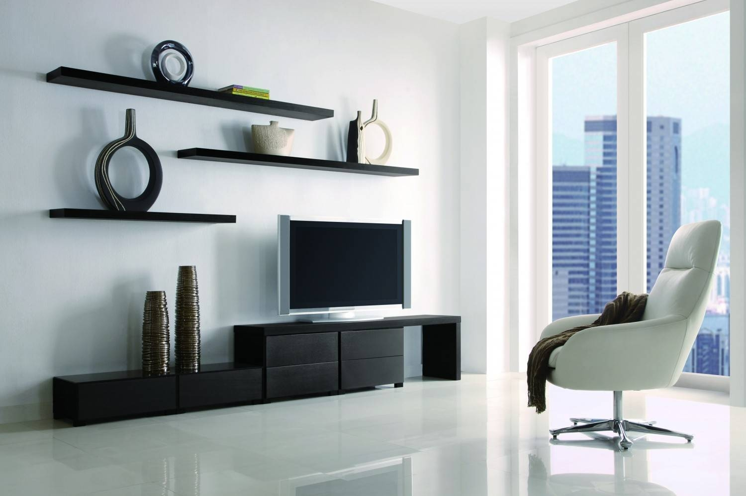 Module Tv Stand | Buy Contemporary Tv Wall Units | Entertainment inside Long Tv Stands Furniture (Image 9 of 15)