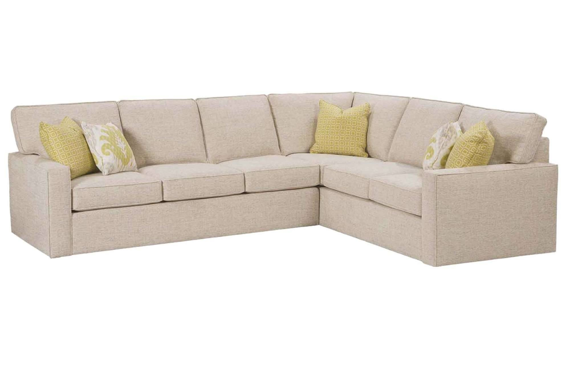 Monaco Sectionalrowe Furniture regarding Rowe Sectional Sofas (Image 6 of 15)