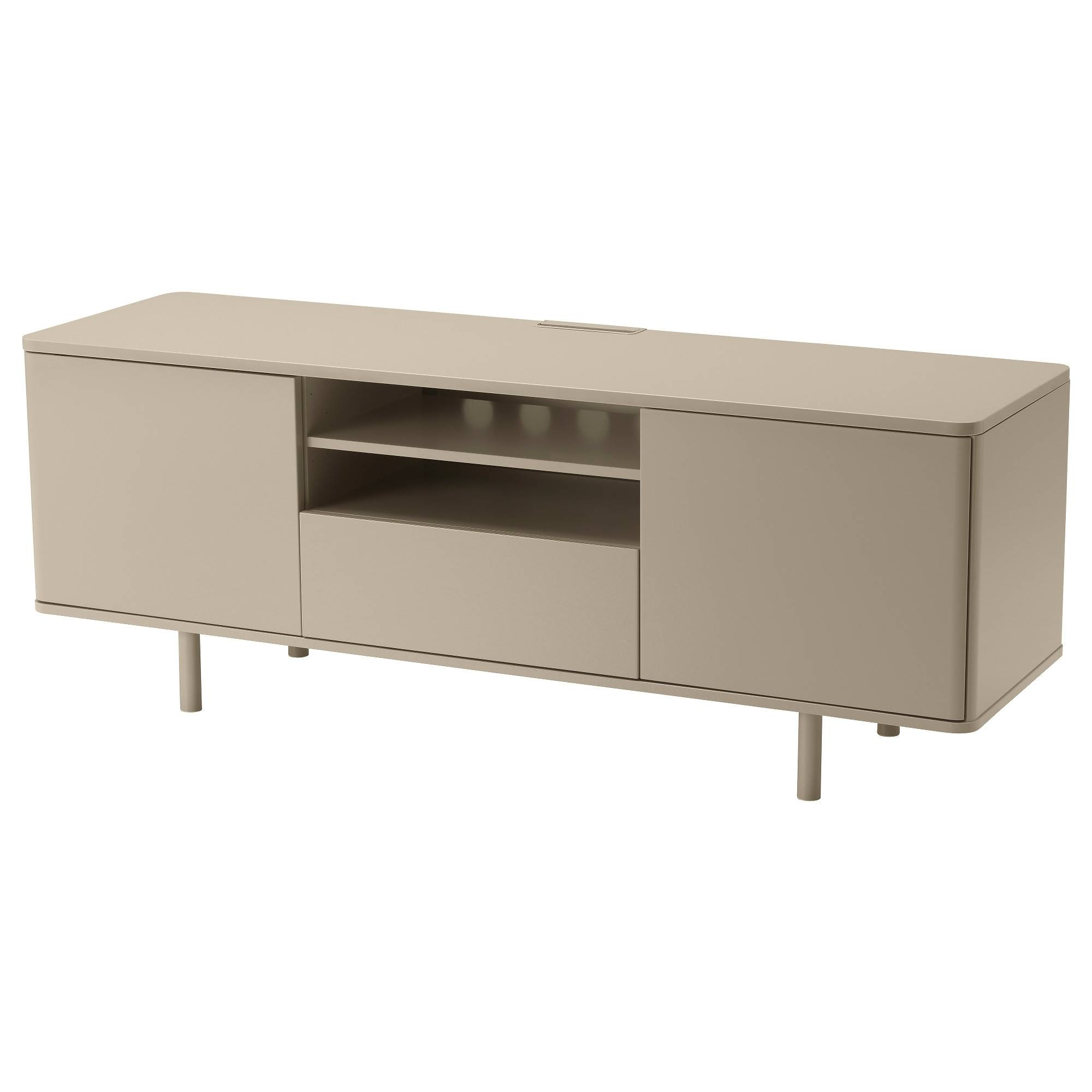 Mostorp Tv Bench Beige 159X46 Cm - Ikea throughout 60 Cm High Tv Stand (Image 8 of 15)