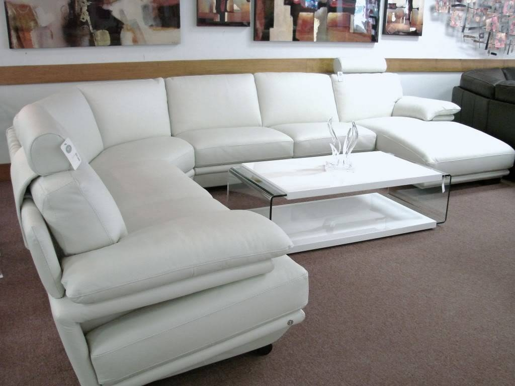 Natuzzi Leather Sectional Sofa - Revistapacheco with Natuzzi Microfiber Sectional Sofas (Image 8 of 15)