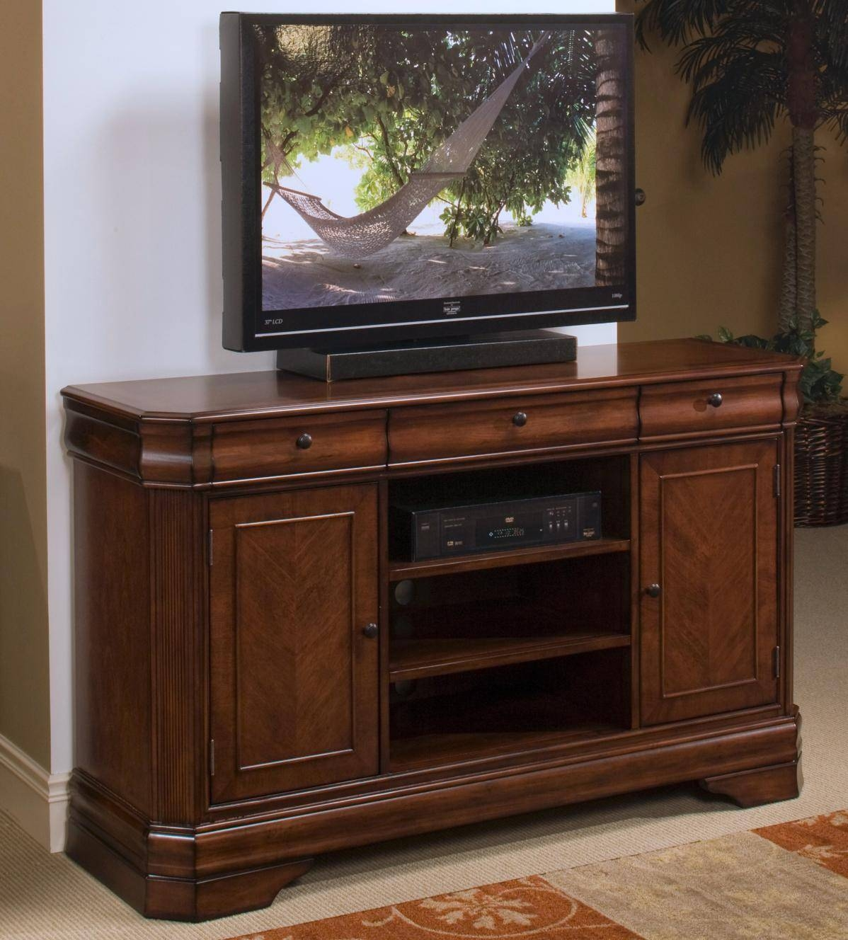 New Classic Sheridan Tv Entertainment Console   Great American Throughout Classic Tv Stands (Photo 5 of 15)