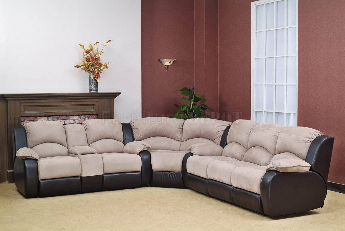 New Sectional Recliner Sofa With Cup Holders 32 For Your Curved with Sofas With Cup Holders (Image 9 of 15)