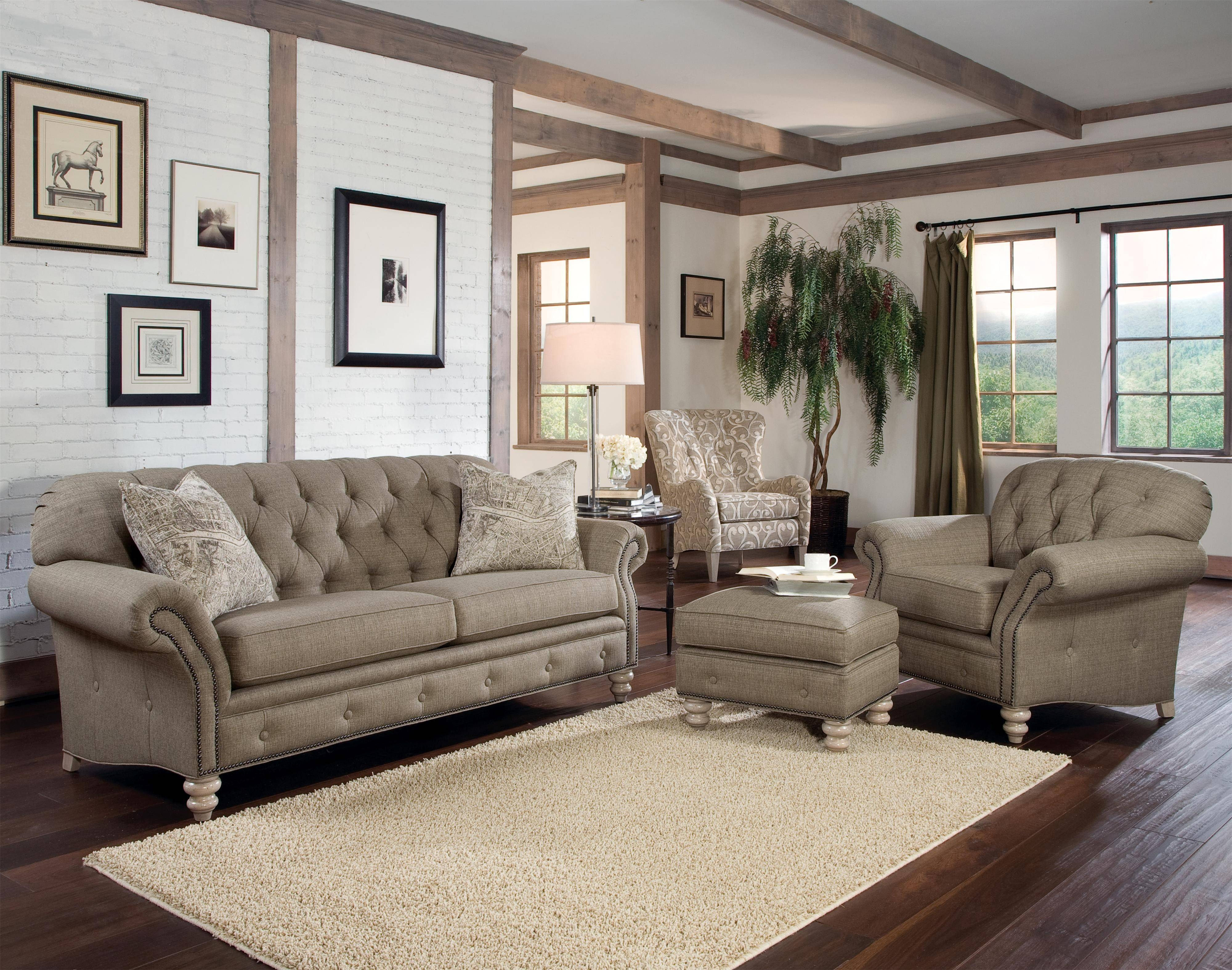 New Tufted Sofa Set Gallery | Gallery Image And Wallpaper throughout Brown Tufted Sofas (Image 12 of 15)