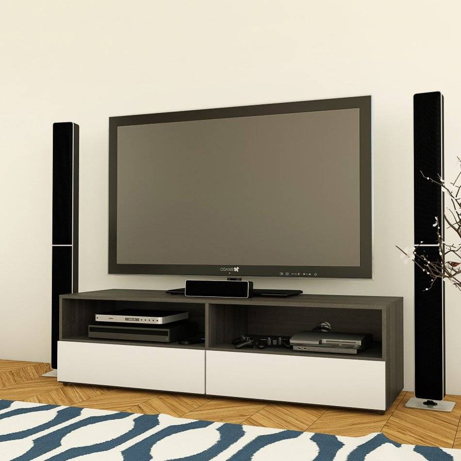 Nexera 220133 Allure 60 In Tv Stand | Lowe's Canada Intended For Nexera Tv Stands (View 9 of 15)