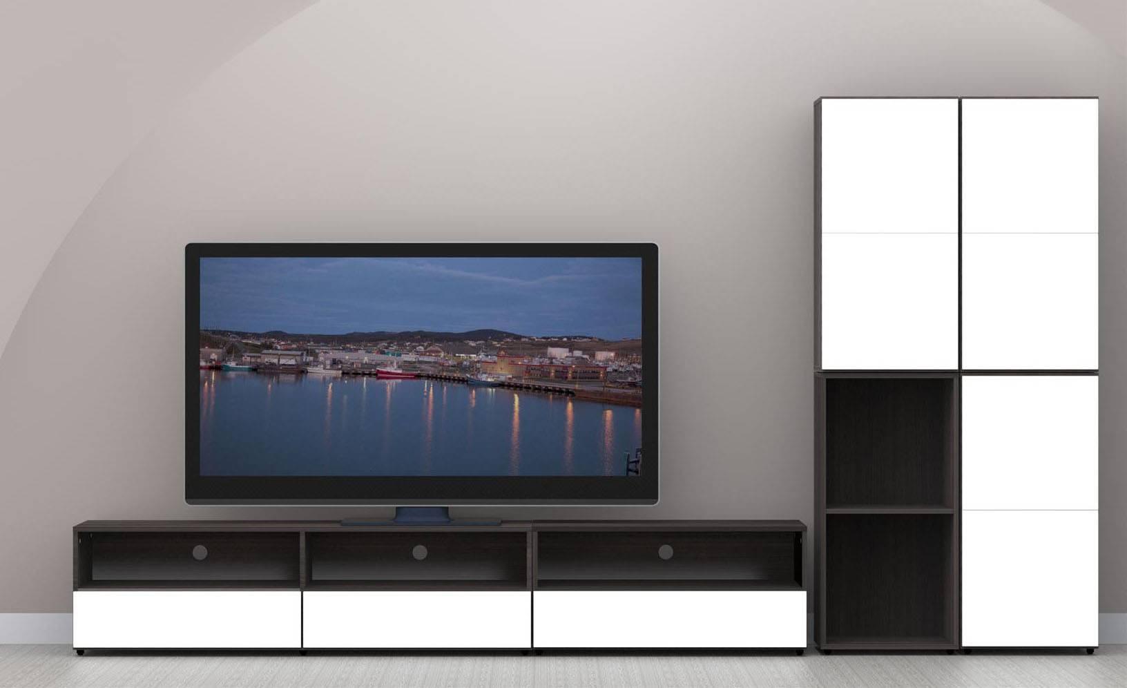 Nexera Allure 60 In Tv Stand N 220133 Within Nexera Tv Stands (View 7 of 15)