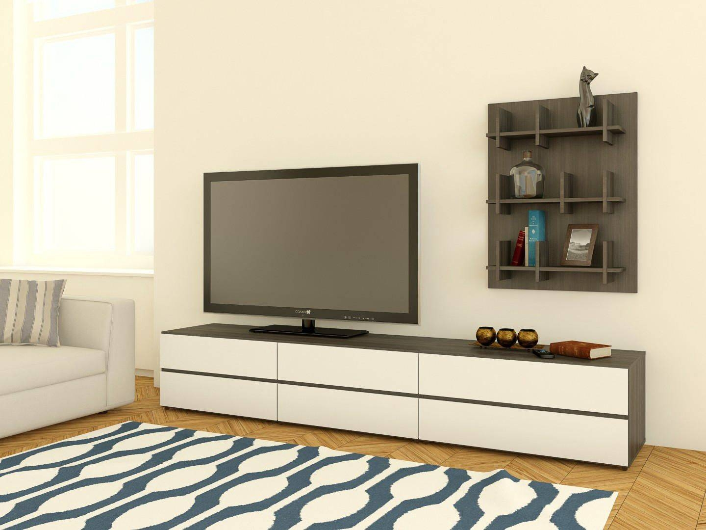 Nexera Allure Tv Stand With Drop Down Door | Walmart Canada Pertaining To Nexera Tv Stands (Photo 10 of 15)