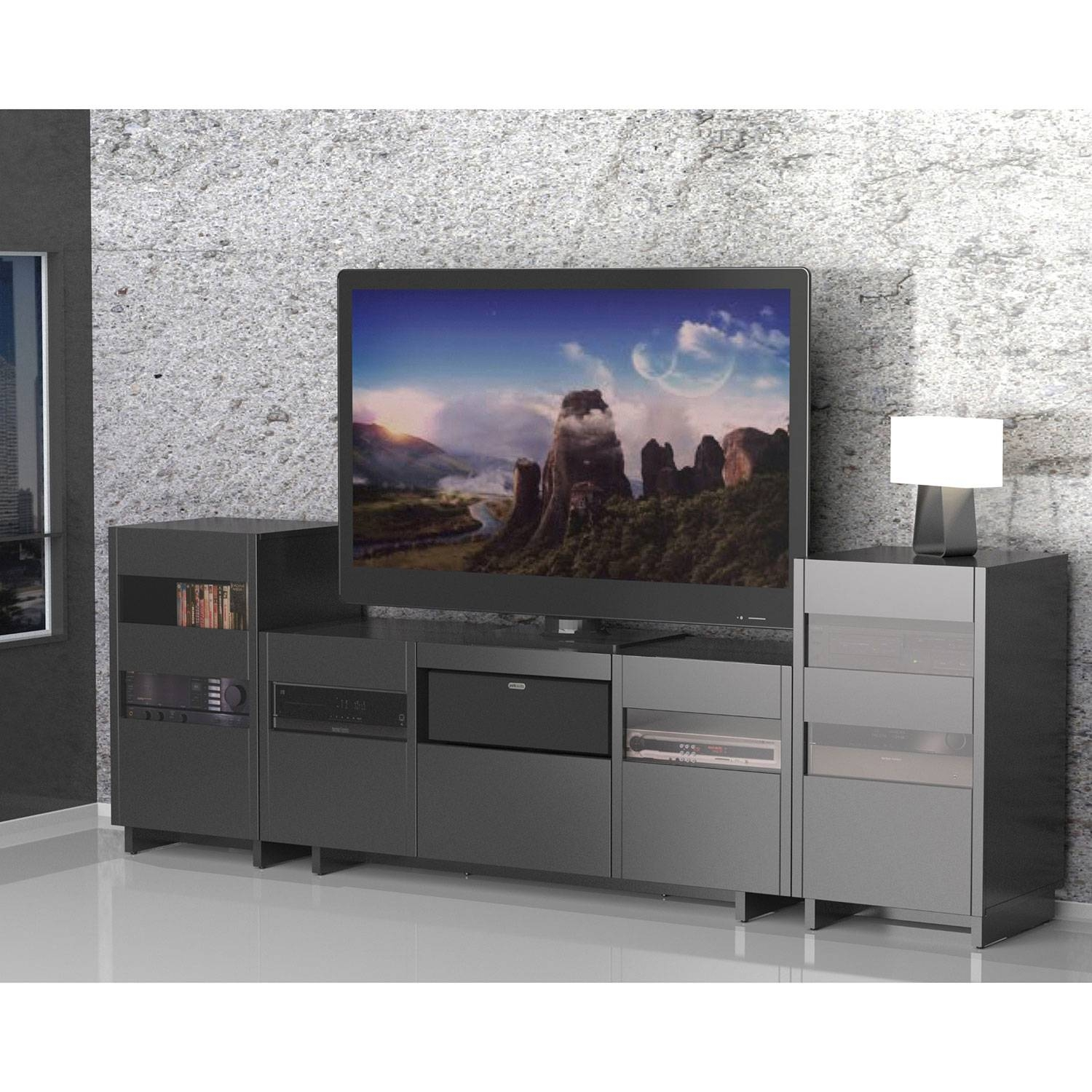 """Nexera Vision Tv Stand For Tvs Up To 64"""" : Tv Stands   Best Buy Canada Throughout Nexera Tv Stands (Photo 13 of 15)"""
