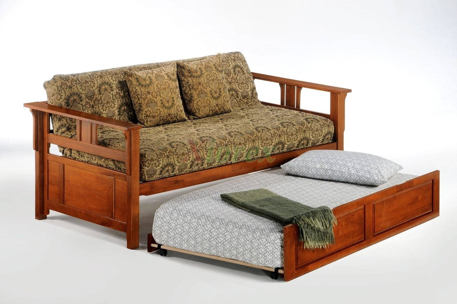 Night And Day Teddy Roosevelt Daybed With Trundle Guest Bed | Xiorex in Sofas With Trundle (Image 7 of 15)