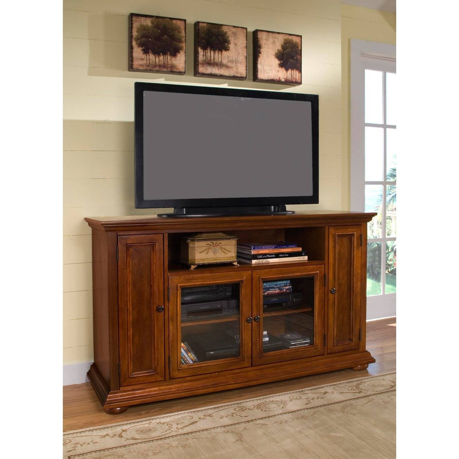 Oak Corner Tv Cabinets For Flat Screens | Memsaheb with Corner Tv Cabinets for Flat Screens With Doors (Image 10 of 15)