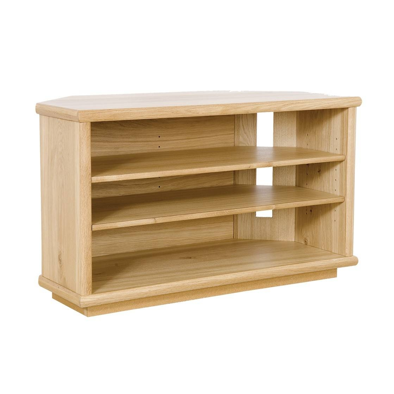 Oak Corner Tv Stand | Gola Furniture Uk within Corner Oak Tv Stands (Image 7 of 15)