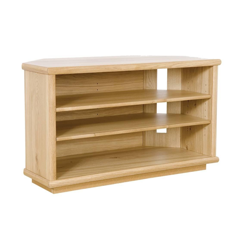 Oak Corner Tv Stand | Gola Furniture Uk Within Corner Oak Tv Stands (View 7 of 15)