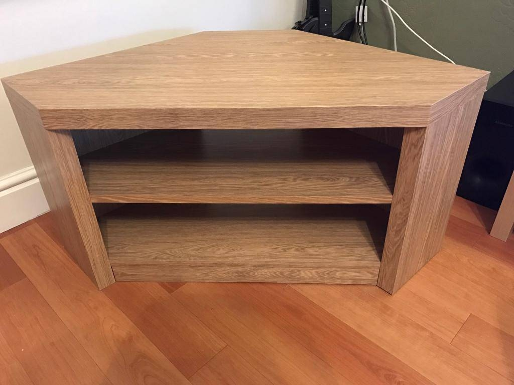 Oak Effect Corner Tv Stand | In Wirral, Merseyside | Gumtree inside Oak Effect Corner Tv Stand (Image 8 of 15)