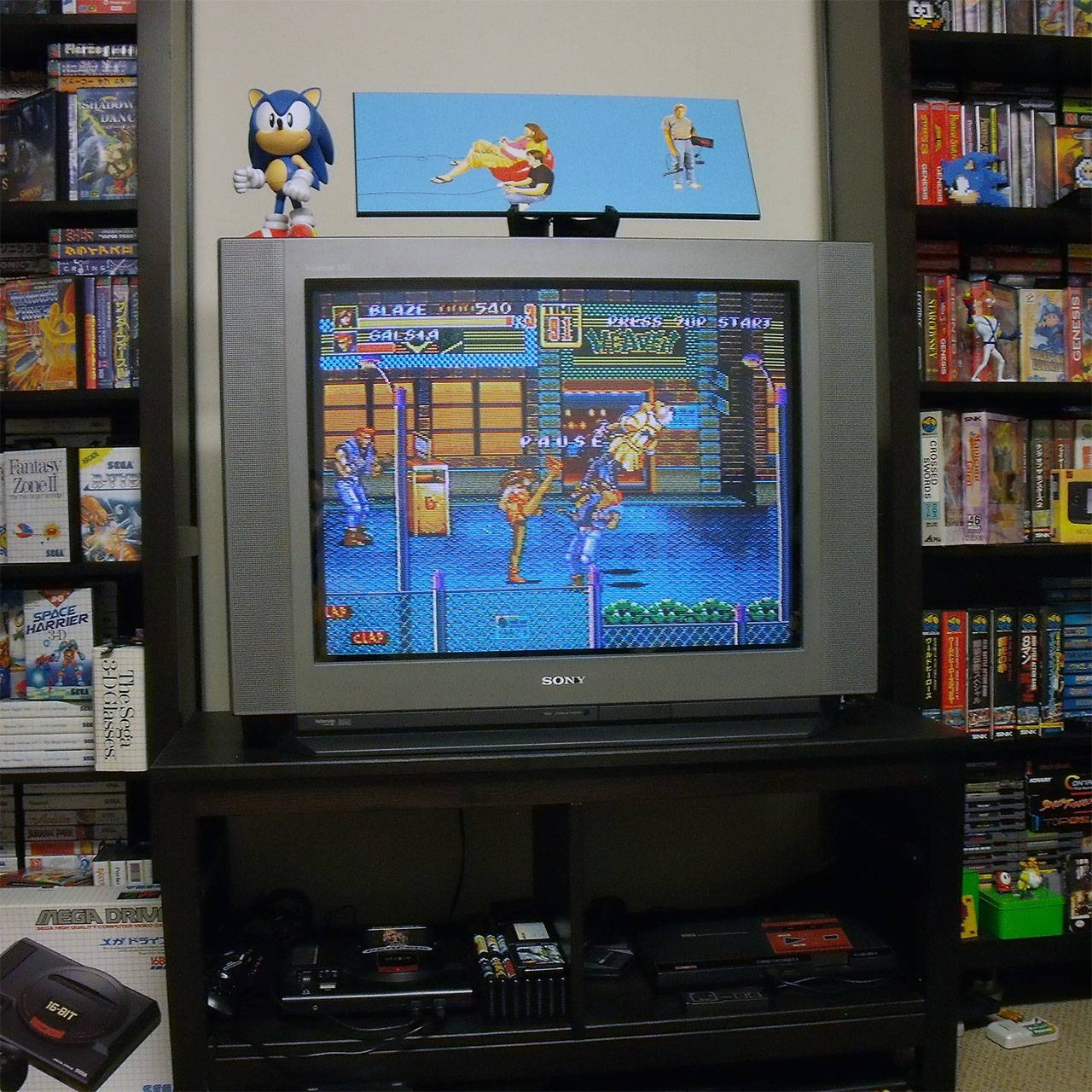 Oh, Yes. A Crt (Tube) Tv Can Still Be Sexy! | Retro Megabit regarding Tv Stands For Tube Tvs (Image 5 of 15)