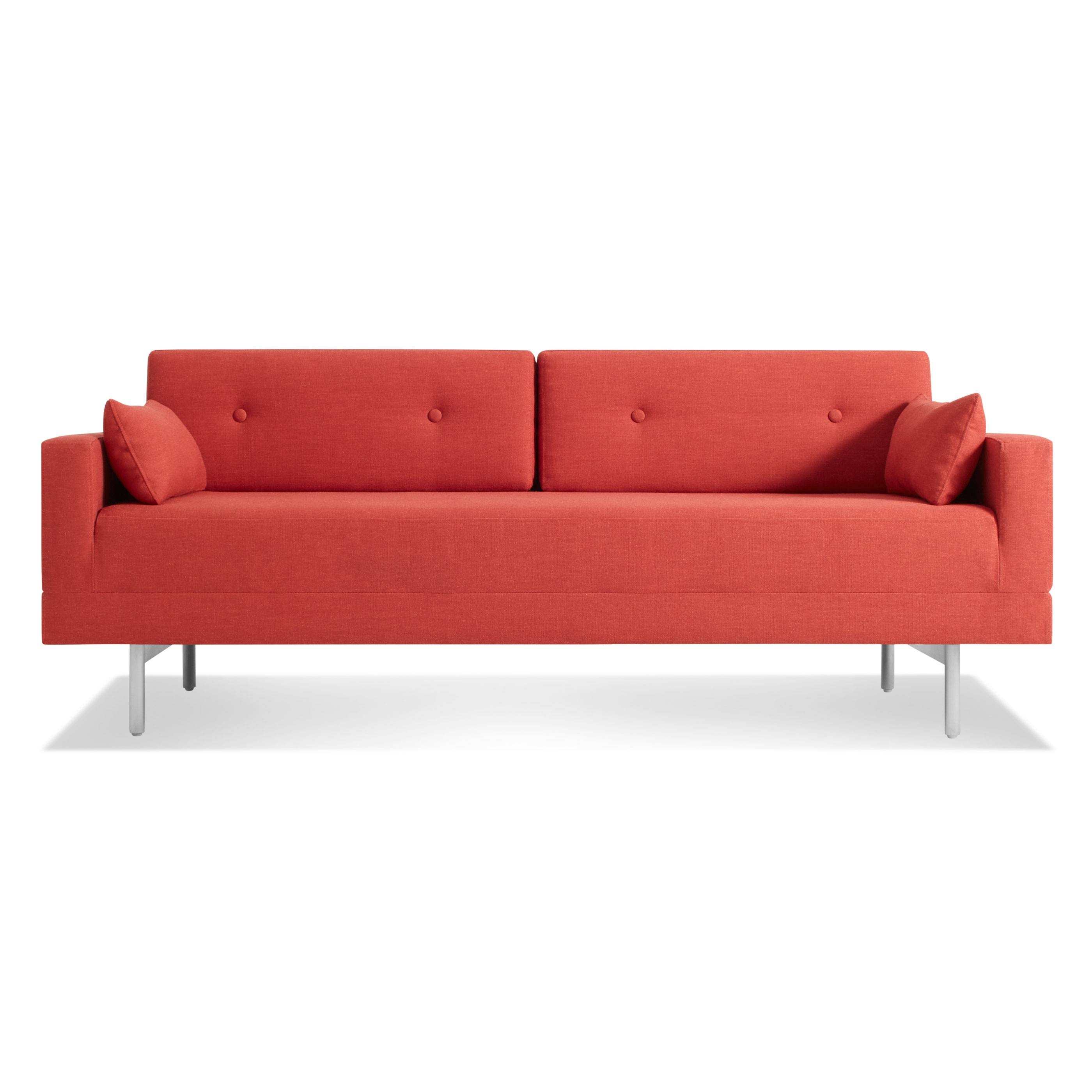 One Night Stand Modern Queen Sleeper Sofa | Blu Dot for Blu Dot Sleeper Sofas (Image 7 of 15)