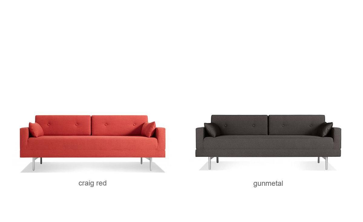 One Night Stand Sleeper Sofa - Hivemodern in Blu Dot Sleeper Sofas (Image 9 of 15)