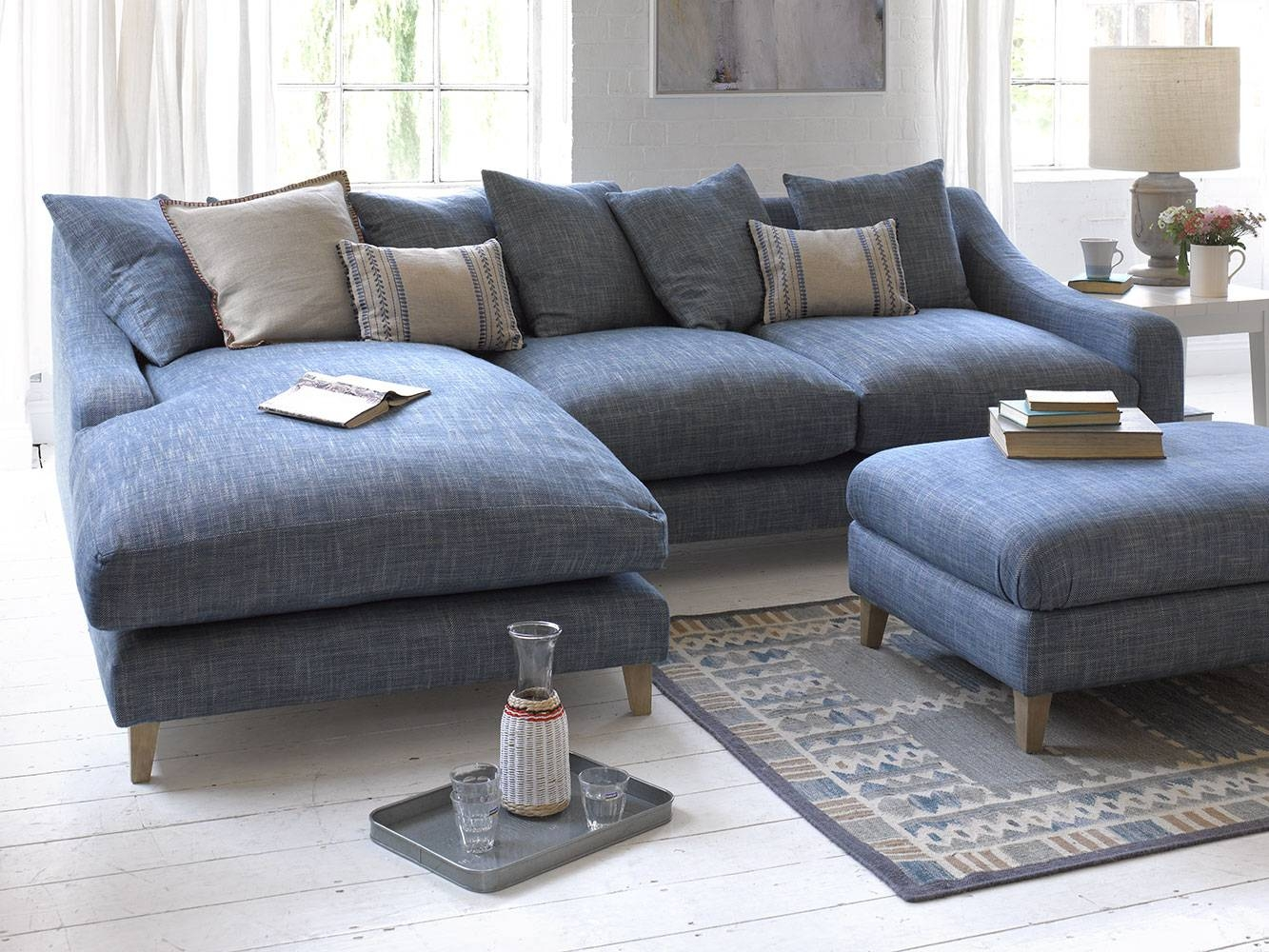 Oscar Chaise Sofa | Comfy Classic Chaise | Loaf regarding Chaise Sofas (Image 13 of 15)