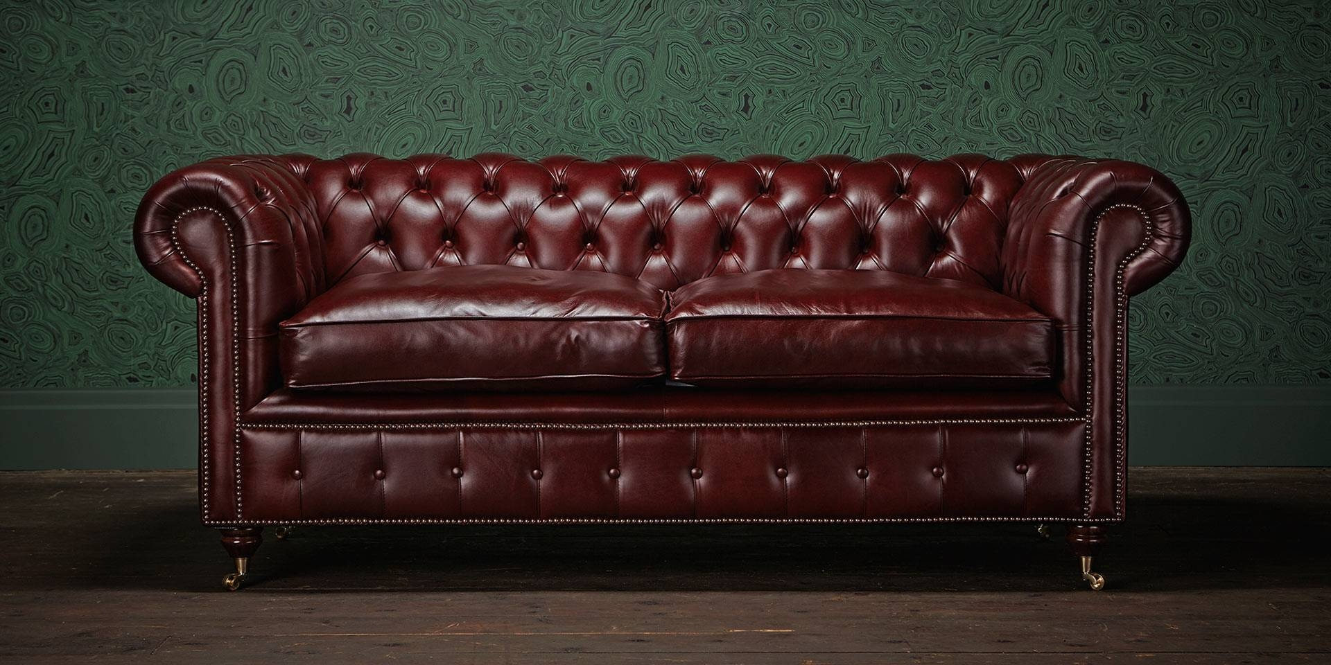 Oxblood Chesterfield Sofa Second Hand | Centerfieldbar throughout Red Chesterfield Chairs (Image 8 of 15)