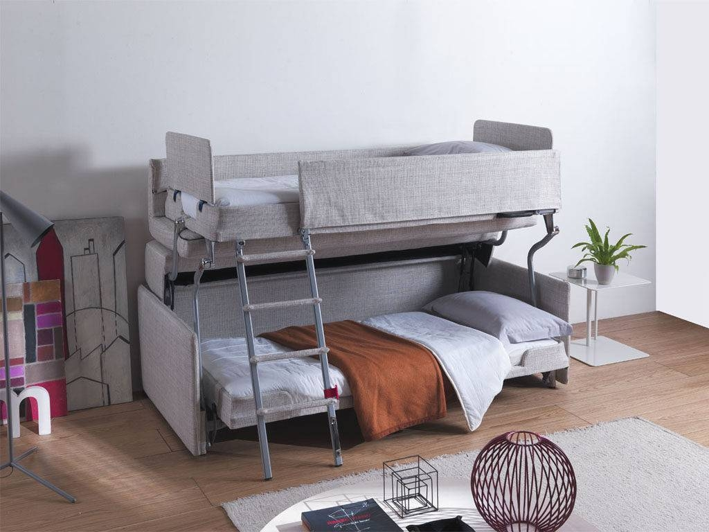 Palazzo | Resource Furniture | Transforming Bunk Beds inside Sofas Converts to Bunk Bed (Image 9 of 15)