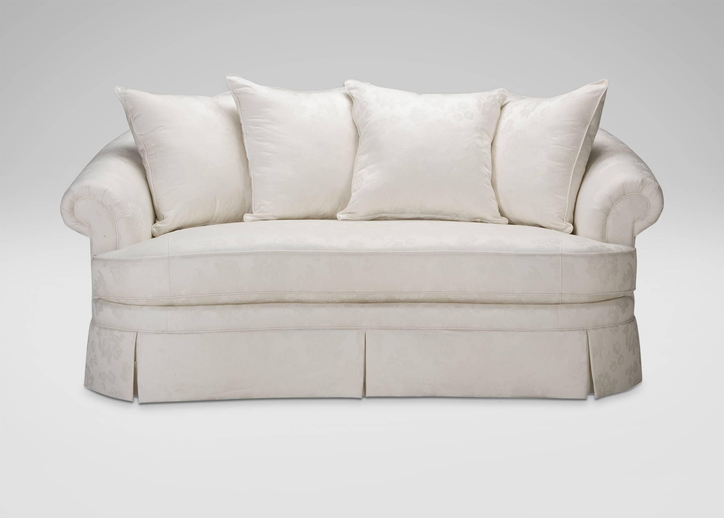 Paris Bench-Cushion Sofa | Sofas & Loveseats with Bench Cushion Sofas (Image 9 of 15)