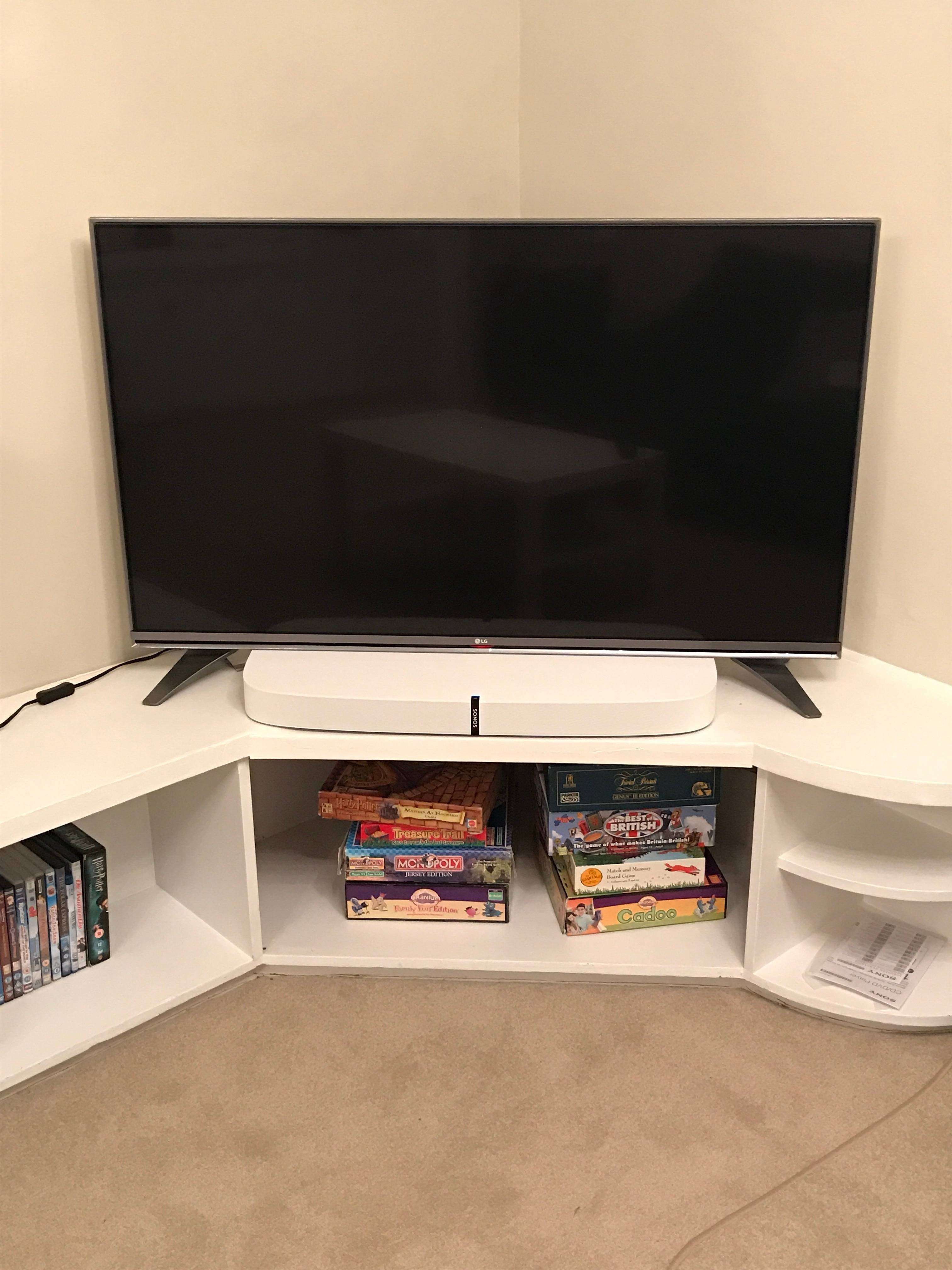 Photos Of Playbase On Tv With Outer Stands? | Sonos Community In Sonos Tv Stands (View 11 of 15)