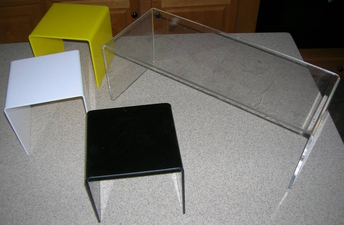 Pics Of Acrylic Parts - Sunset Plastic Fabrication with Clear Acrylic Tv Stands (Image 8 of 15)