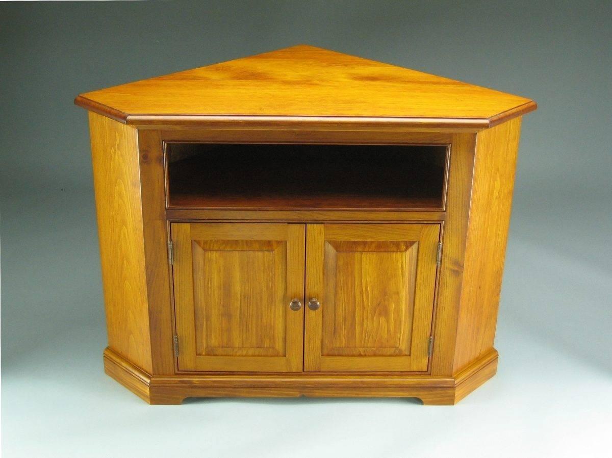 Pine Corner Tv Stand – Finewoodworking Inside Pine Corner Tv Stands (View 4 of 15)