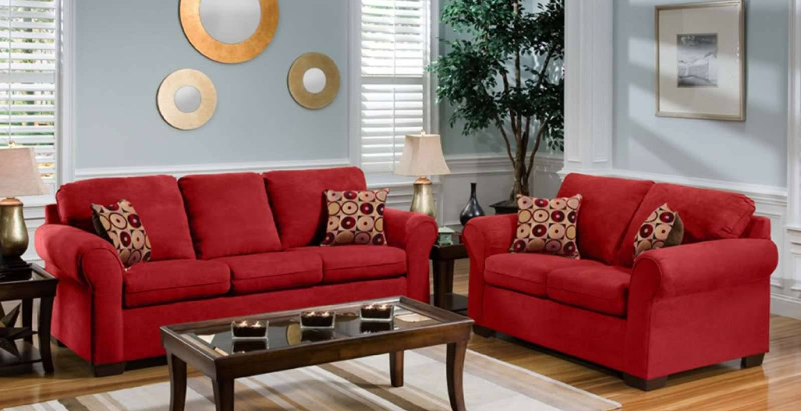 Red Gingham Sofa Country Cottage Sofas Foter Thesofa