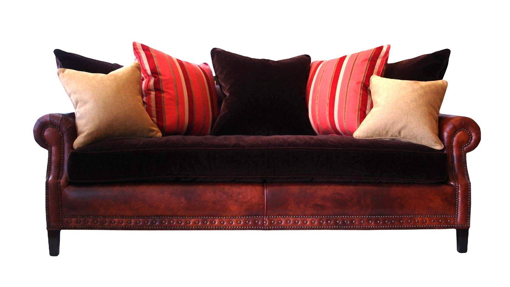Plush Home Westmount Sofa with Loose Pillow Back Sofas (Image 8 of 15)