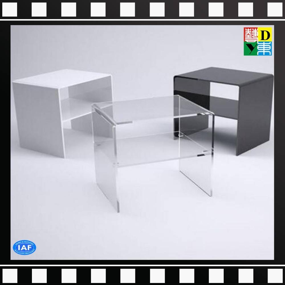 Popular Rotatable/mobile Clear Acrylic Tv Stand With Dvd Player Pertaining To Clear Acrylic Tv Stands (View 9 of 15)
