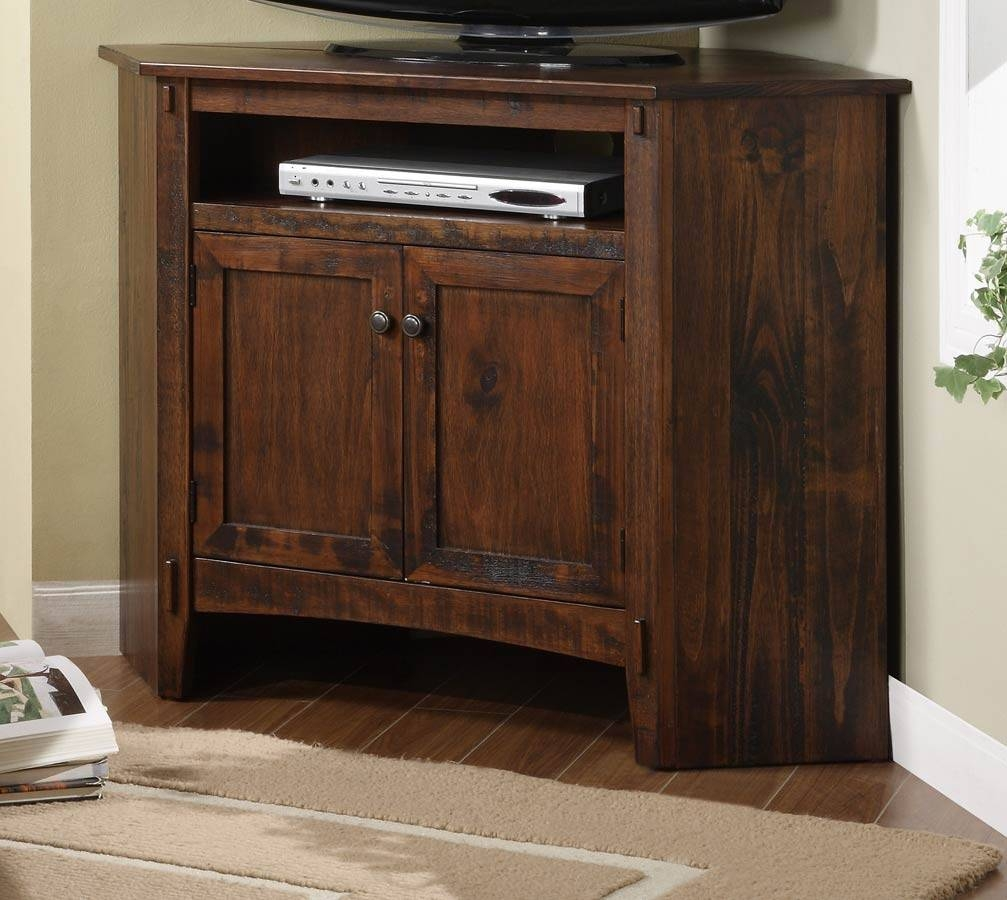 Powell Rustic Corner Tv Stand Pw-634-954 At Homelement pertaining to Rustic Corner Tv Stands (Image 8 of 15)
